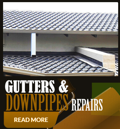 Gutter and downpipe repairs and painting1