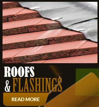 Roofs and flashings