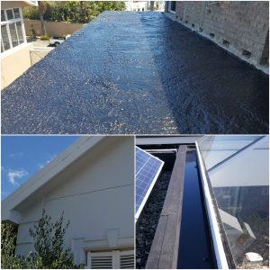 Roof painting and repairs